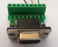 D-Sub breakout adapter