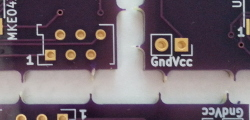 PCB panelisation tacks