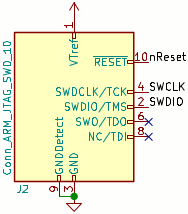 JTAG connector schematic